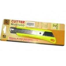 CUTER RETRACTIL 18MM JA-1801 INCLUYE 3 HOJAS