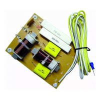 DIvisor Frecuencia  Crossover Pasivo 2V 250WRMS 4,5KHZ