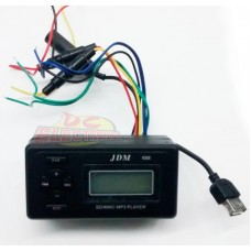AMPLIFCADOR JDM688 MP3  AM/FM 12V 15+15W