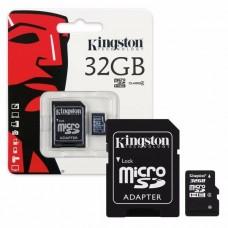 MICROSD 32GB KINGSTON CLASE 10