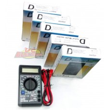 TESTER DIGITAL DT830D DC X5
