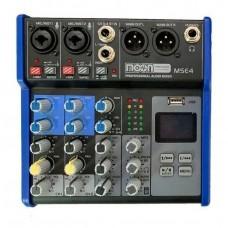 CONSOLA MOON MSE4 4 CANALES, EFECTOS, MP3, BLUETOOTH